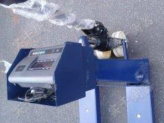 2000公斤防爆电子叉车秤